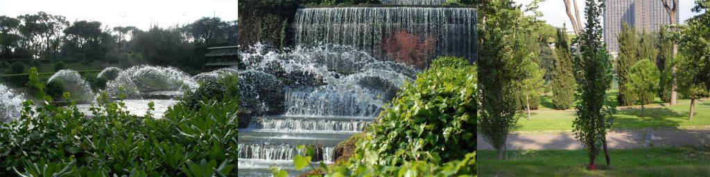 Parchi e giardini eur s p a la citt nella citt for Architetto giardini roma