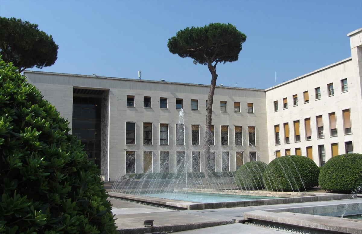 Palazzo Uffici, sede di EUR SpA (Roma - Eur)