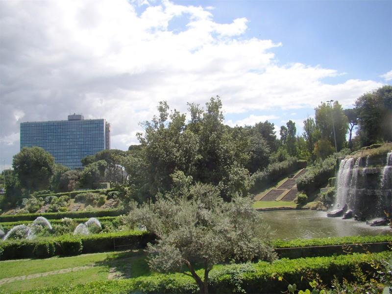 Il giardino delle Cascate
