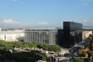 EUR SpA - Il Nuovo Centro Congressi dell'Eur, progettato dall'architetto Massimiliano Fuksas