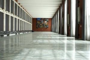 Il Salone Severini è l'ambiente più rappresentativo del Salone delle Fontane - Roma Eur