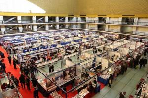 """Una delle tante edizioni di """"Più libri più liberi"""" all'interno del Palazzo dei Congressi (qui il Salone della Cultura) - Roma Eur."""