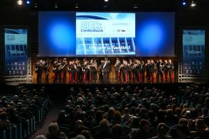 Evento della Società Italiana Chirurgia all'interno dell'Auditorium Capitalis del Palazzo dei Congressi - Roma Eur
